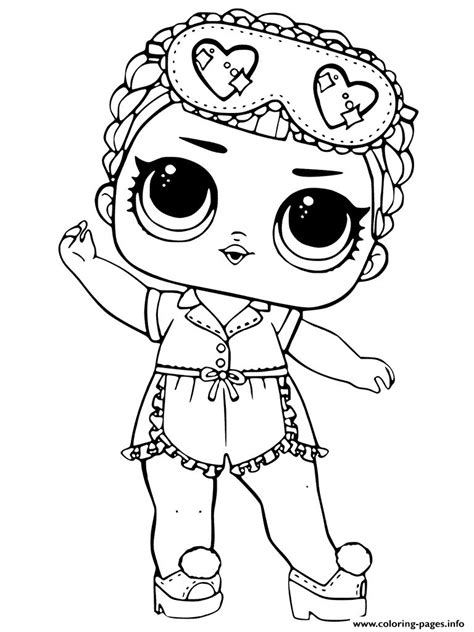 Coloring Lol Dolls by Lol Dolls Coloring Pages Printable In 20 Lol Doll Coloring