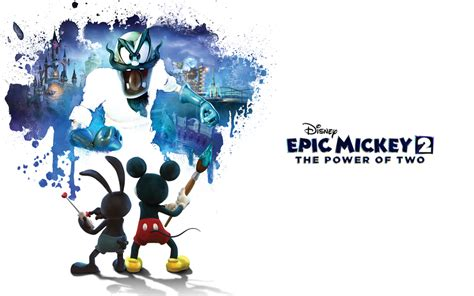 Games Disney Epic Mickey 2 The Power Of Two Megagames