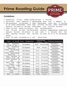 Prime Rib Roasting Guide Free Download