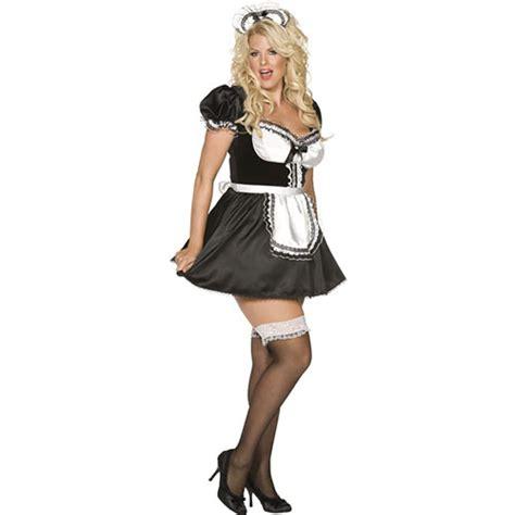 deguisement femme de chambre costume femme de chambre charme française noir et blanc