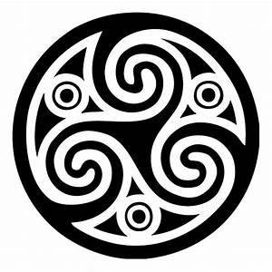 Kelten Symbol Wandtattoo