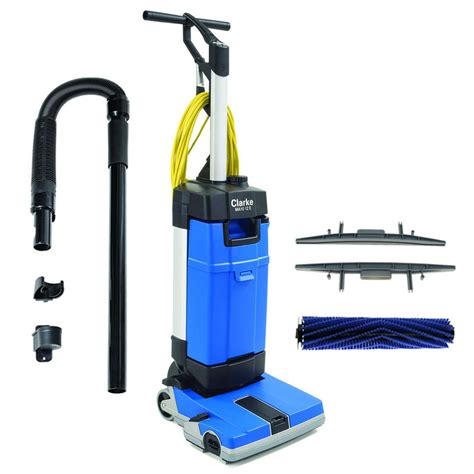 ma10 12ec upright auto scrubber w carpet cleaning tools floormatshop commercial floor