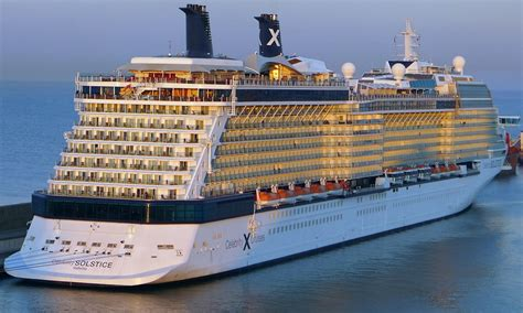 Celebrity Solstice - Itinerary Schedule Current Position ...