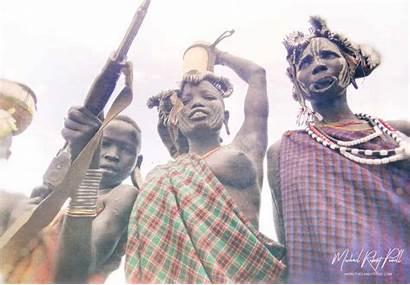 Mursi Tribe Ethiopia Gun Traditions Money
