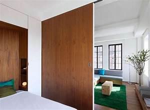 Separation Salon Chambre : separation salon chambre a coucher resine de protection ~ Zukunftsfamilie.com Idées de Décoration