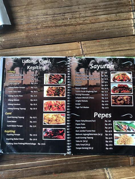 review menu  harga makanan  telaga kuring