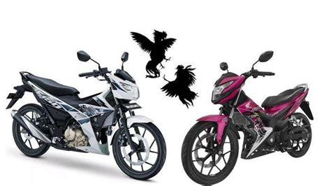 motor ayam jagonya indonesia ini harga terbaru suzuki satria f150 dan honda sonic juni 2019
