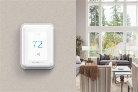 honeywell smart home honeywell home t series smart thermostats from resideo feature room monitoring sensors techhive