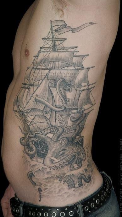 amazing octopus tattoos  side