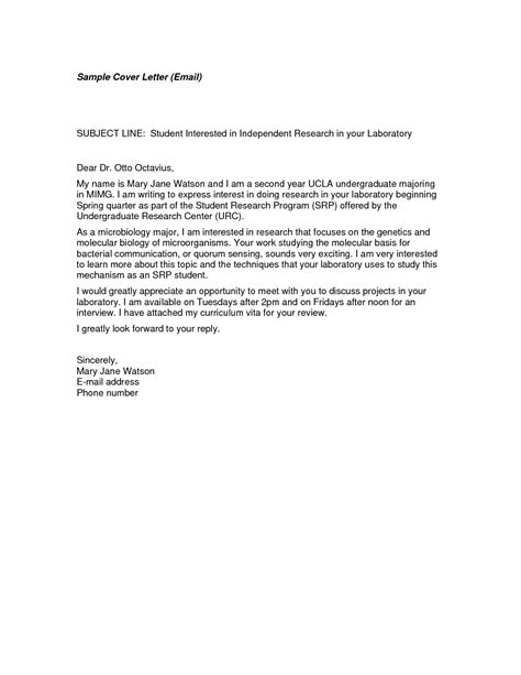 cover letter exles email the best letter sle