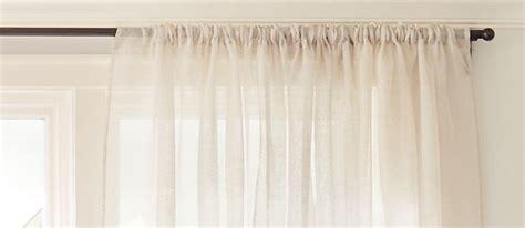 hang curtains guide crate  barrel
