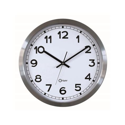 pendule de cuisine murale horloge murale design classico métal 50cm pier import