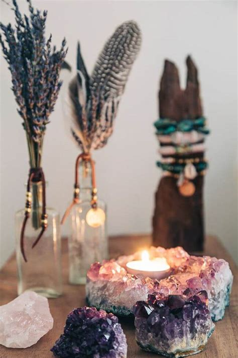 decorating ideas  designs  crystals
