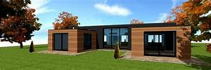 plan de maison en bois terrasse en bois With faire un plan de maison 12 maison en bois le plan nature de trecobat