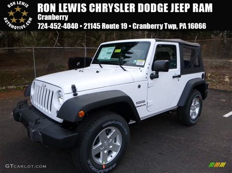 white jeep 2016 2016 bright white jeep wrangler sport 108921782