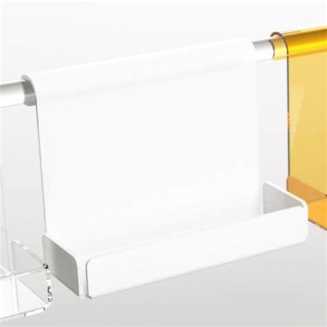 mensola doccia mensola box doccia in plexiglass disponibile in diversi