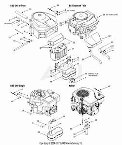 Mtd 13bs608h131  2003  Parts Diagram For Engine Accessories