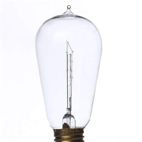 4 75 quot vintage 40 watt edison style light bulb decorative