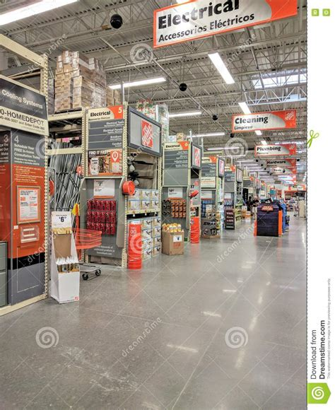 Home Depot Store Stock Photos  Royalty Free Images