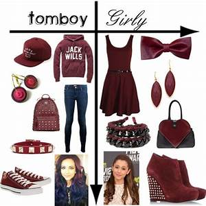 #earrings u0026quot;Tomboy vs. Girly Maroonu0026quot; by mustachiopistachio on Polyvore | Fashion inspiration ...