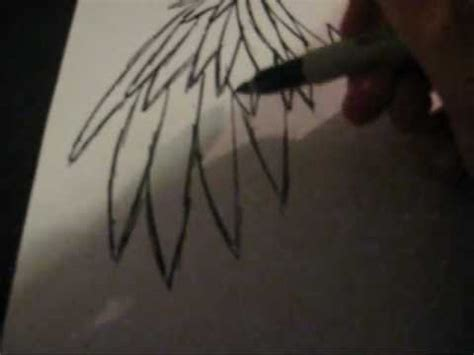 draw emo angel wings youtube