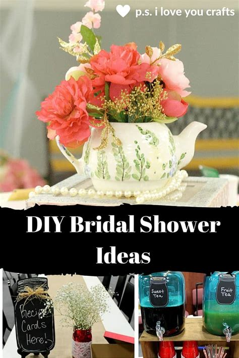 For A Bridal Shower by Diy Bridal Shower Ideas For A Celebration P S I