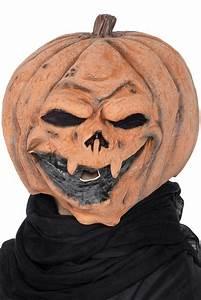 Tete De Citrouille Pour Halloween : masque citrouille halloween masque en latex adulte jack o 39 lantern ~ Melissatoandfro.com Idées de Décoration