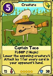 Adventure Time Card Wars Creatures