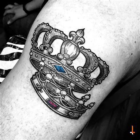 coronas tattoo crowns king prince queen