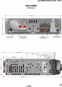 Sony Cdx 4000x 90226a Me Product Guide P1ver4 User Manual