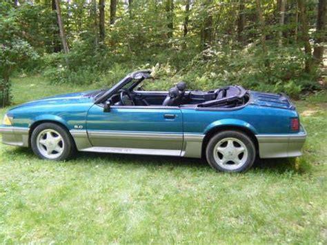 1993 ford mustang gt for buy used 1993 ford mustang gt convertible in gaylordsville