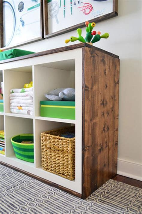 Great Kitchen Storage Ideas - the best ikea kallax hacks and 20 different ways to use them