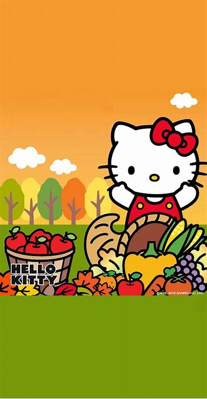 Kitty Hello Thanksgiving Getwallpapers Source