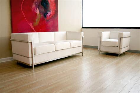 wholesale interiors le corbusier petite white leather sofa