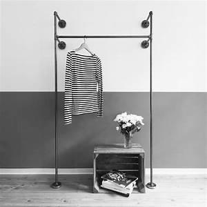 Garderobe Aus Rohren : industrial design m bel garderoben kleiderst nder online bestellen rohre offene garderobe ~ Watch28wear.com Haus und Dekorationen