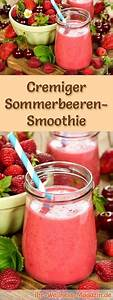 Gesunde Smoothies Zum Abnehmen : sommerbeeren smoothie gesundes rezept zum abnehmen verschiedenes pinterest smoothie ~ Frokenaadalensverden.com Haus und Dekorationen