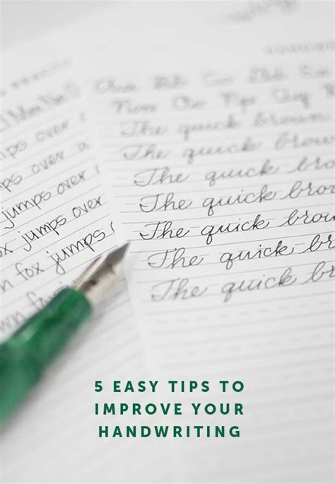 5 Easy Ways To Improve Your Handwriting  I Still Love You By Melissa Esplin