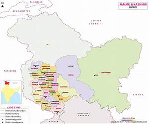 Map Kashmir | My Blog