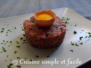 cuisine simple 67 steak tartare cuisine simple et facile