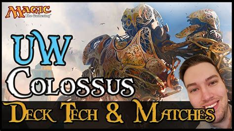mtg dominaria uw metalwork colossus deck tech  matches