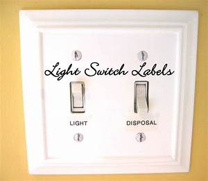 57 best images about light switch labels on pinterest With electrical switch labels
