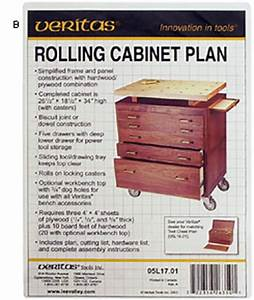 Veritas® Tool Chest and Rolling Cabinet Plans - Lee Valley