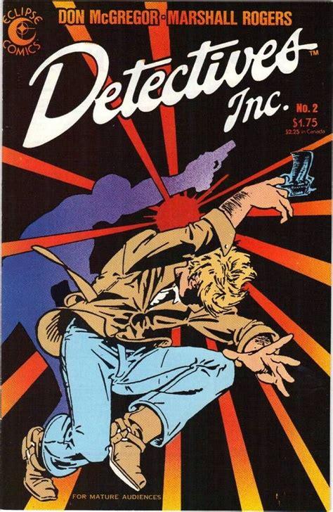 detectives inc 2 apr 1985 eclipse comics comic book hostile poolside universe comic books