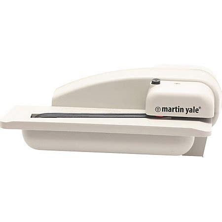 electric letter opener martin yale premier automatic desktop letter opener