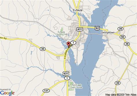 30 Lake Eufaula Alabama Map Maps Database Source