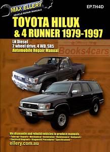 Toyota Diesel Shop Manual Service Repair Book Ellery Hilux