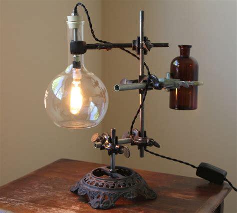 Science Lamp by Industrial Desk Lamp Steampunk Lamp Industrial Lamp
