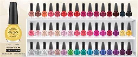 O.p.i. Nail Colour Charts On Pinterest