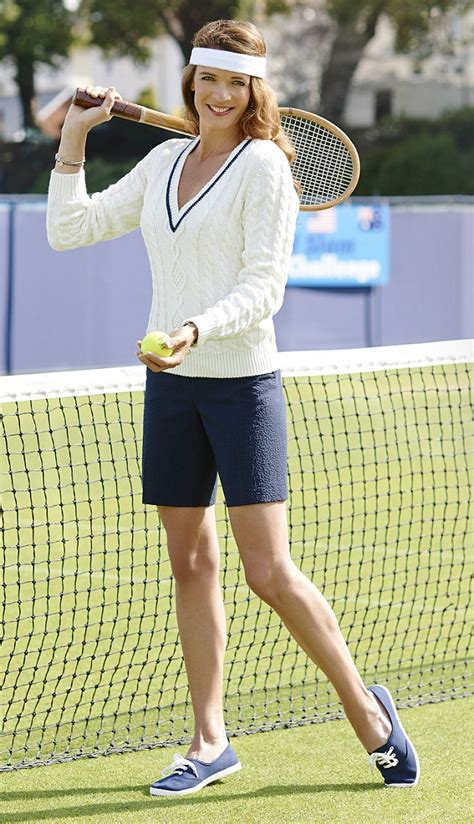 high street outfits inspired  wimbledon modeled