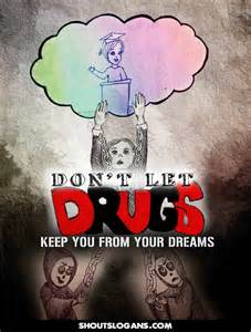 Drug Free Slogans and Posters